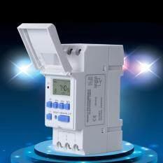 Digital LCD Saklar Pengatur Waktu Elektronik Yang Dapat Diprogram THC 15 AMP 110 V AC 220 V AC Baru