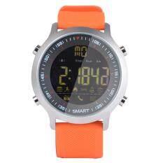 Digital Jam Tangan Pintar Pria IP68 Tahan Air 5ATM Telepon SMS Pemberitahuan Sport Smartwatch dengan LED Backlight