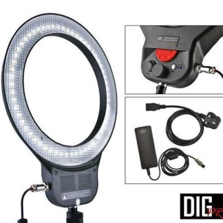 DigPro 30W LED Ring Light W/ AC adapter