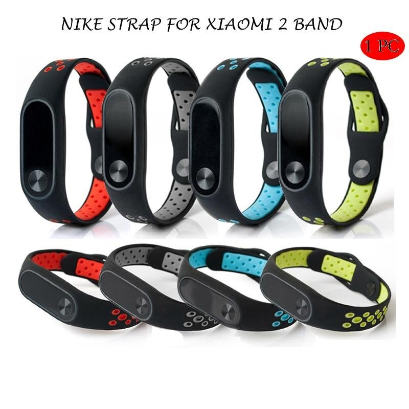 MYR 25. Double Color Wrist Silicone Strap Bracelet For Xiaomi2 M2 smart Wristband BandMYR25