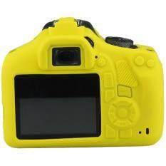 DSLR Kamera Digital Lembut Karet Silikon Tas Wadah Kamera Tas Lensa untuk Canon 1300D Soft Case