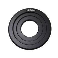 Dslrkit C Mount Lensa untuk Canon EOS M EF-M Mount Kamera Mirrorless Adaptor M4 M10