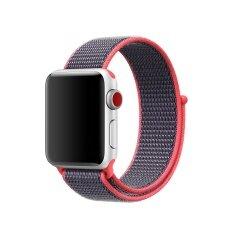 Rp 110.000. DTD Olahraga Karet Penahan untuk Apple Watch 38 Mm Tali untuk IWatch 3/2/1 Gelang Anyam Tali Jam Tangan ...