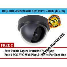 Dummy cameras buy dummy cameras at best price in malaysia www ihomex tb 300 dummy imitation stimulation cctv security camera recorder with activation light black mozeypictures Choice Image