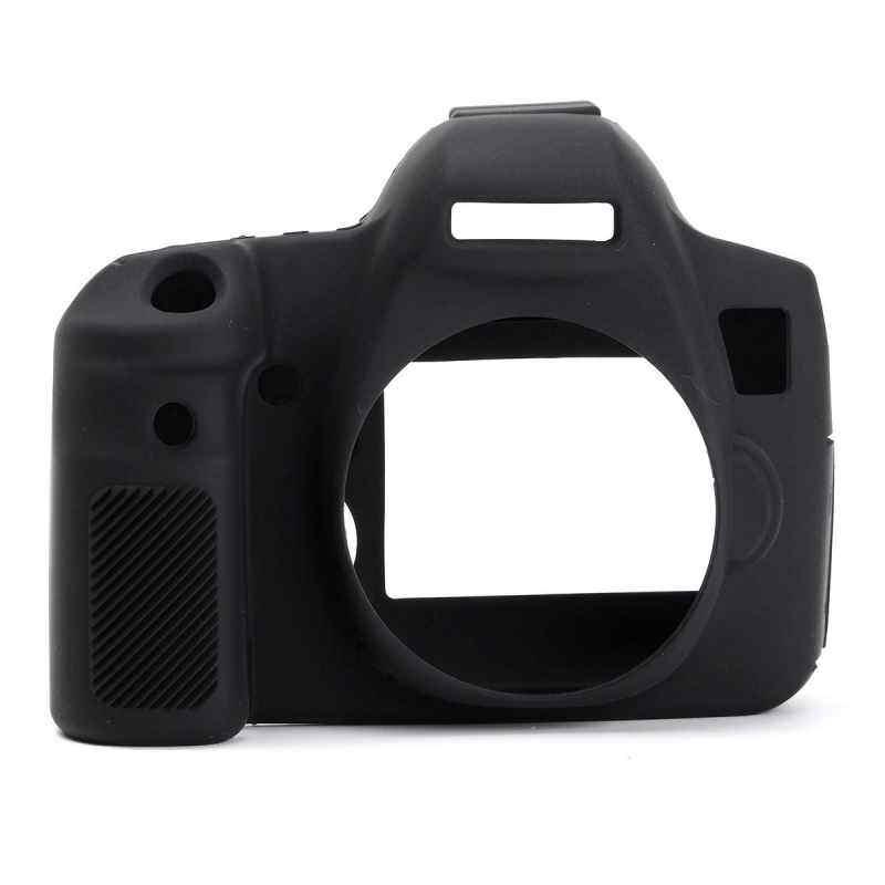 Finemall Durable Silicone Rubber Protector Bag Body Camera Cover Case Skin For Canon 6D Black