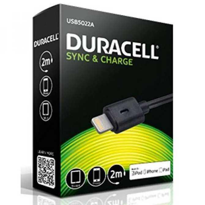 Duracell USB5022A Lightning Auf USB Ladekabel/Datenkabel/Sync-Kabel Eter MFI Apple Zertifiziert
