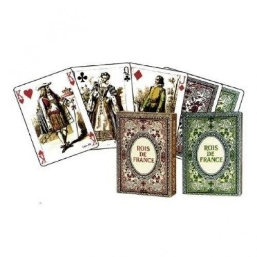 Dusserre - Kings of France 55 Playing Cards Game - intl