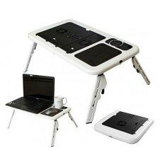 E-Table Portable Foldable Laptop Notebook E-Table Desk with Cooling Fan System LD09 Malaysia