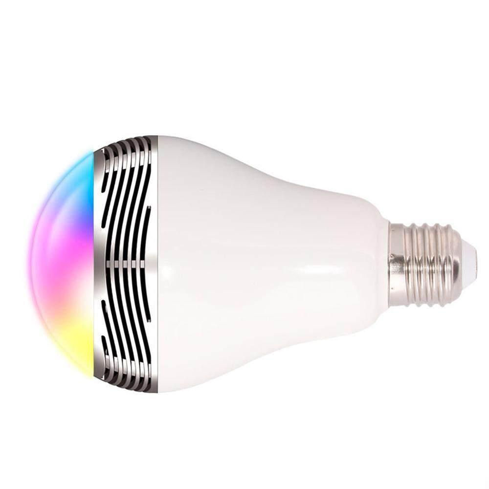 Hình ảnh E27 APP Remote Control LED Bulb Lamp Speaker Bluetooth 4.0 Music LED RGB Light