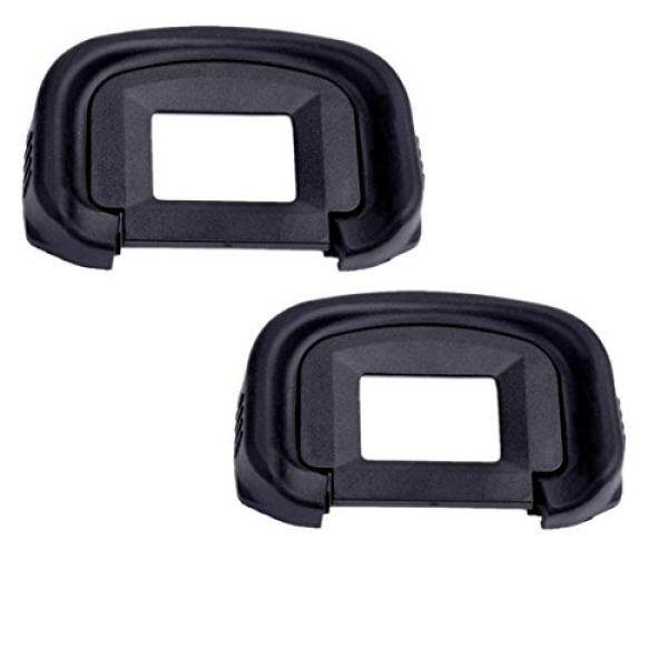 Eggsnow (2-Pack) Eyepiece Eyecup Eye Cup EG Replacement for Canon EOS-1D X / 1Ds Mark III / 1D Mark IV / 1D Mark III / EOS 5D Mark III / 7D - intl
