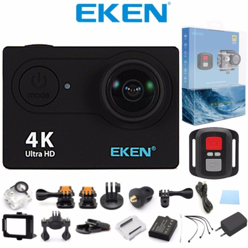 Eken H9R 4K Action Camera Wifi Sports Cam Remote Control Shutter Black Intl Reviews