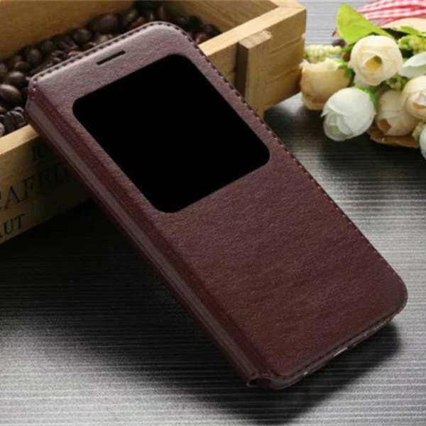 MYR 33 KAYO For Samsung Galaxy Note 4 View Window Flip Leather Cover .