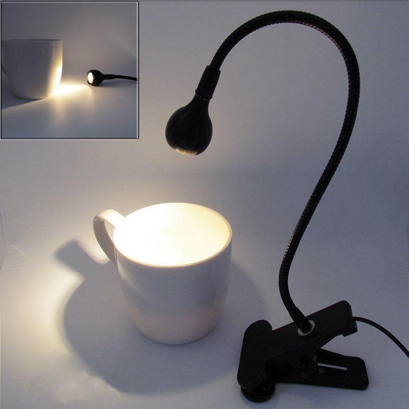 Bảng giá Erui Flexible USB Clip-on Table Lamp LED Clamp Reading Study Bed Laptop Desk Light (Warm White) Phong Vũ