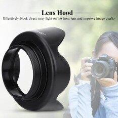 ES-62II Camera DSLR Lens Hood for Canon 50mm f/1.8 II with Lenses Cap