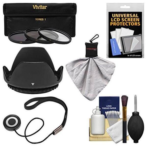 Essentials Bundle for Nikon 18-140mm f/3.5-5.6G VR DX ED AF-S Nikkor-Zoom Lens with 3 (UV/CPL/ND8) Filters + Hood + Accessory Kit - intl