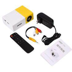 ETOUCH YG300 Mini Portable LED Projector DVDs w/Remote Control Home Media Player