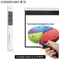 Every1 Knorvay USB Wireless Presenter (30 Meter) Presentation Remote Laser Pointer Compatible Window/IOS/Android Malaysia