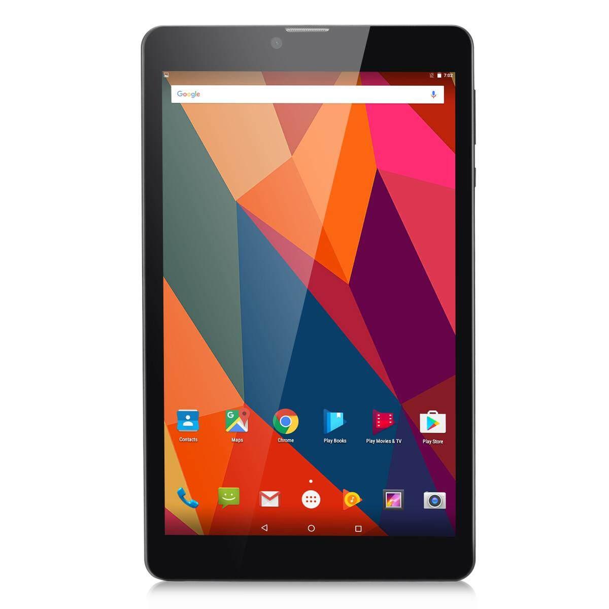 Excelvan M08K6 8\ Android 6.0 3G Tablet EU Plug(Black)
