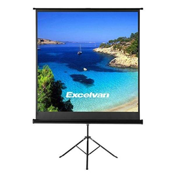 Excelvan Projector Screen with Foldable Stand Tripod, Excelvan Portable 70
