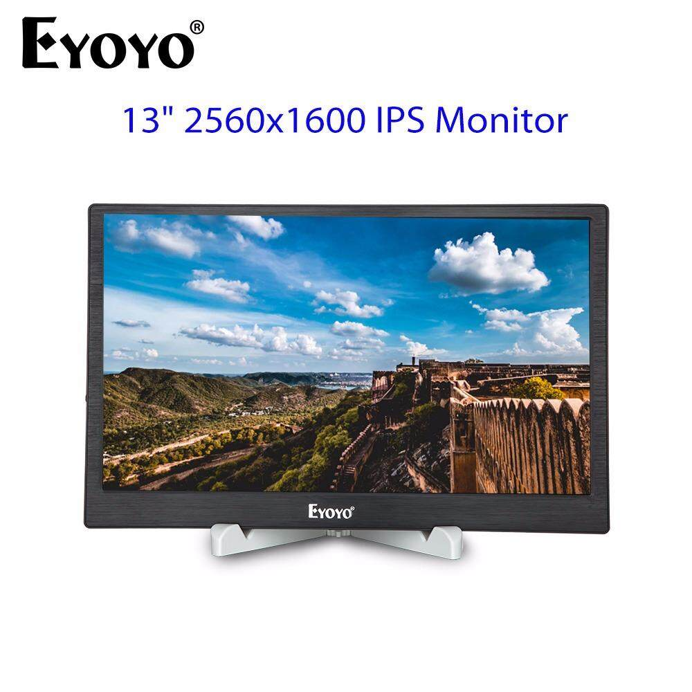Price Eyoyo 13 2K 2560X1600 Ips Gaming Monitor With Dual Hd Input Metal Housing For Pc Laptop Dvd Ps3 Ps4 Xbox Intl On China