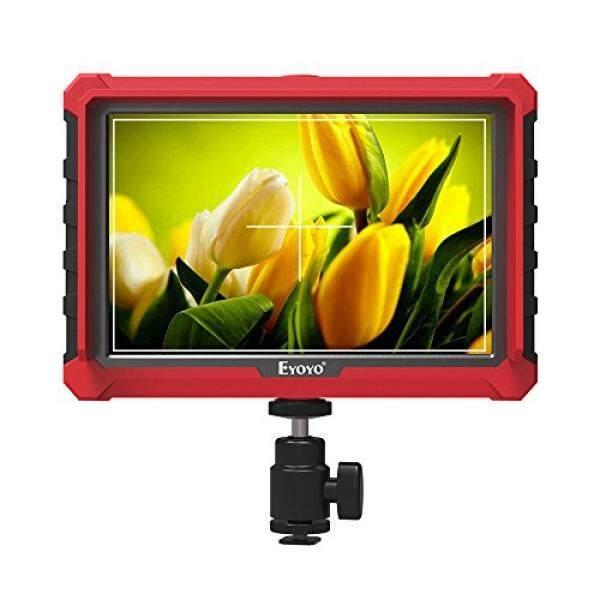 Eyoyo A7S 7 Inch 1920X1200 IPS Di Monitor Lapangan Kamera Mendukung 4 K HDMI Input Loop Kamera Keluaran-Layar Atas untuk DSLR Kamera Mirrorless SONY A7S II A6500 Panasonic GH5 Canon 5D Mark IV DJI RONIN M-Intl