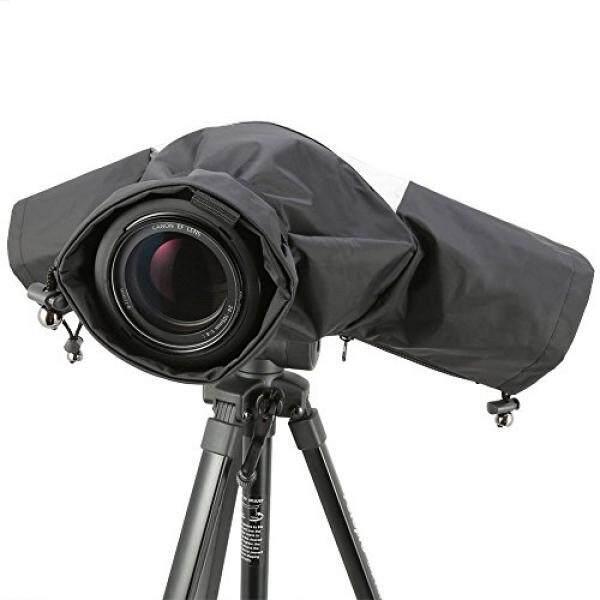 EzFoto Camera Rain/Snow Cover Protectors for Pro Digital SLR Camera with up to 200mm lens installed for Canon, Nikon, Olympus, Panasonic, Pentax, Sony, Fujifilm, Sigma Digital SLRs - intl