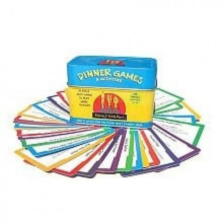 Family Time Fun Dinner Games and Activities - intl