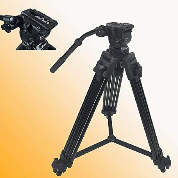 Fancierstudio Fancierstudio Professional Heavy Duty Video Camcorder Tripod Fluid Drag Head Kits FC270A - intl