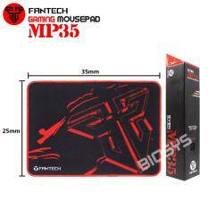Fantech SVEN MP35 High Non-Slip Base Gaming Mouse Pad with Edge Sewed (Black mix Red) Malaysia