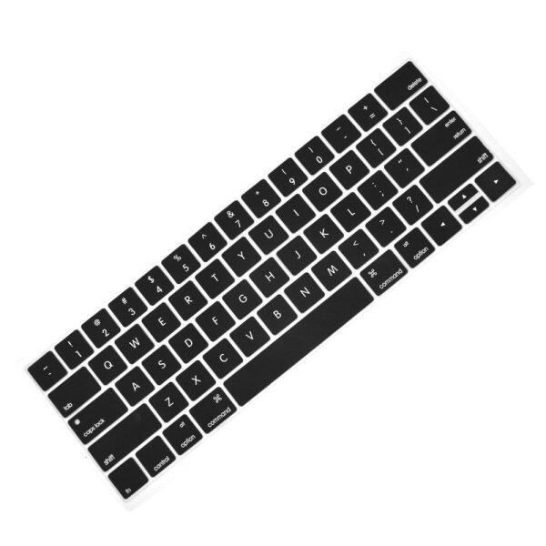 Fashion Portable Keyboard Cover Silicone Skin Washable Protector for MacBook Pro with Touch Bar Model 13inches or 15inches 2016 Release MacBook Pro A1706 A1707 Black Malaysia
