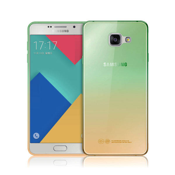 MYR 36. KAYO Fashion Slim Soft Gel TPU Clear Rainbow Gradient Color Back Cover Case for Samsung ...