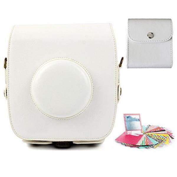 Fcheki Kameratasche Zubeh? R F? R Fujifilm Instax Square Meter 10 Hybride Sofortbildkamera (Kameratasche/Foto Tasche/Aufkleber) Weiᄅᆲe-Intl
