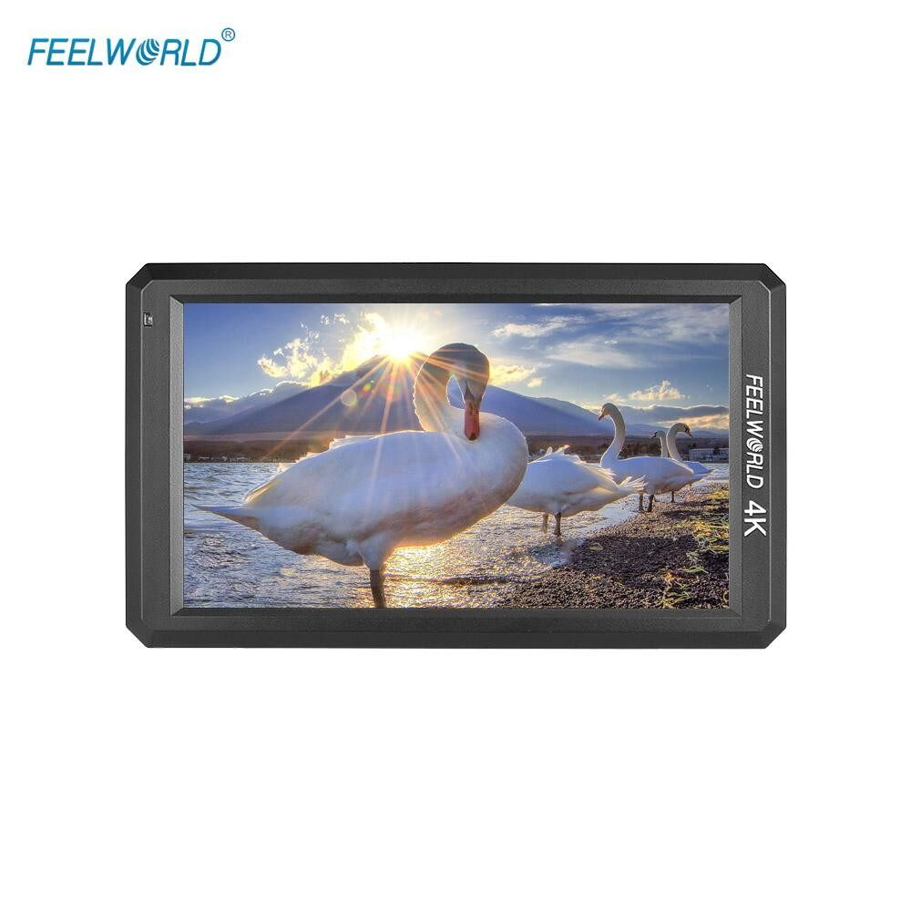 Cheapest Feelworld F6 5 7Inch Ips 1080P Camera Field Monitor Support 4K Hd Input 1400 1 High Contrast For Canon Nikon Sony Panasonic Dslr Intl