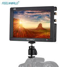 Feelworld F7S 7inch 1920 * 1200 IPS Camera Field Monitor HD 3G-SDI Input Output Support 4K Signal 1200:1 High Contrast for Canon Nikon Sony Panasonic DSLR Malaysia