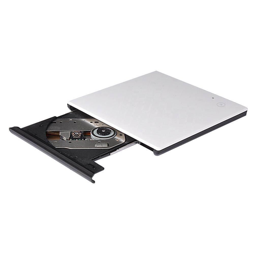 Fehiba USB 3.0 External CD DVD Mendorong, Portabel Sentuh Pengendali CD-Internasional