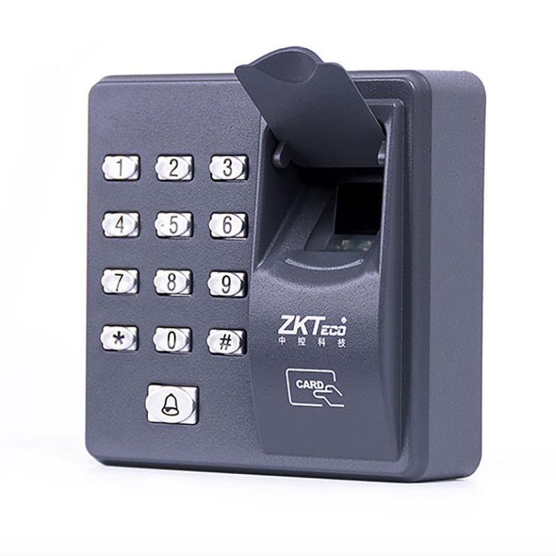Fingerprint Access Control Standalone Single Door Controller Cheapest Standalone Keypad Finger +RFID Card ZKTeco X6 Door Entry