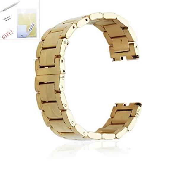 Fitian 22 Mm Anti Karat Tali Penggantian Tali Jam untuk Motorola MOTO 360 1st Generasi Pintar Jam Tangan Motorola Bagian Manset Lengan Kemeja dengan Layar pelindung Dan Musim Semi Bar Jeweler Juga-Internasional