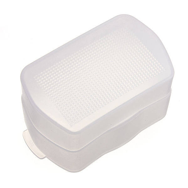 LXVK Flash Bounce Diffuser Soft Cover for YONGNUO YN560 III YN560 II YN565 (White) - intl