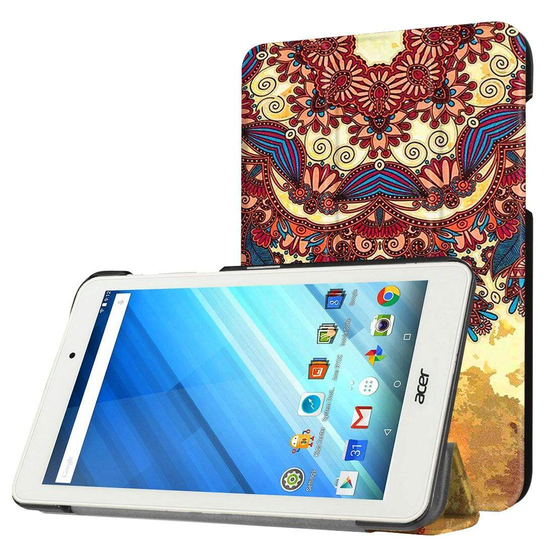 Buy For Acer Iconia One 8 B1 850 National Style Texture Pattern Horizontal Flip Leather Case With Three Folding Holder Intl
