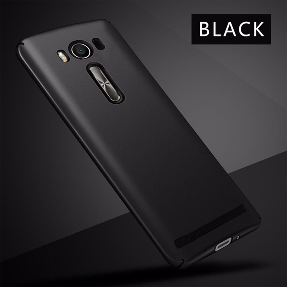 Nillkin Frosted Hard Case For Asus Zenfone 2 5 Casing Cover Hitam Shield Max Zc550kl Popo Ball Laser Ze500kl Smooth Luxury Ultra Thin