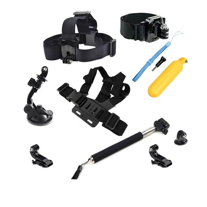 Aksesori Kamera Olahraga Dada Kamera Pasang Tali Selfie Stick untuk Pahlawan 6/5/4/3/2 SJ4000 SJ5000 SJ6000 SJ7000 M10 M20 H9R Dbpower EX5000-Intl