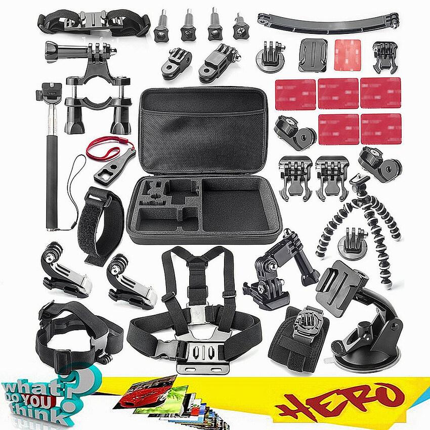 For gopro Accessories Acessorios For Sj5000 Go pro Hero 1 234HDR-AS15/AS20/AS30V/AS100V/i Sony FDR-X1000V/W 4K Action Camera