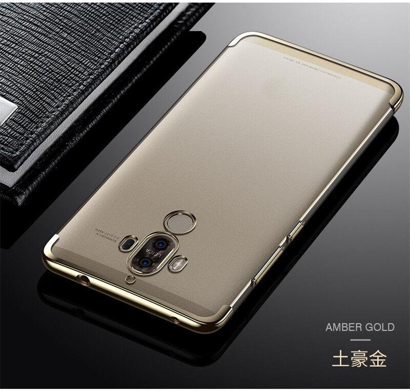Untuk Huawei P20 Pro Wadah Cermin Kaca Tempered Hibrida Tahan ... e367de1d5f