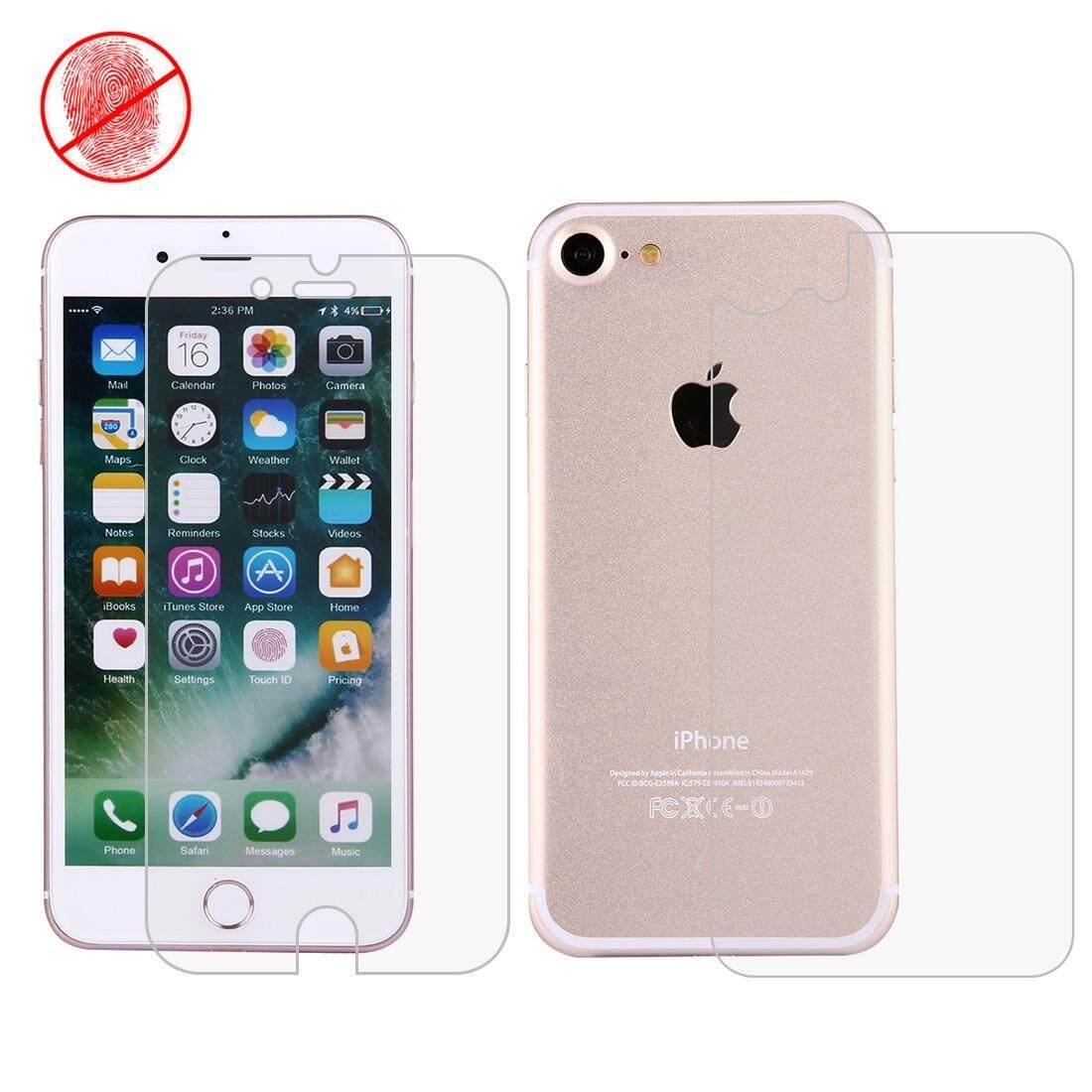 Rui Dia untuk iPhone 7 Anti Silau Non-full Depan + Belakang Layar Pelindung (Taiwan Bahan) -Internasional