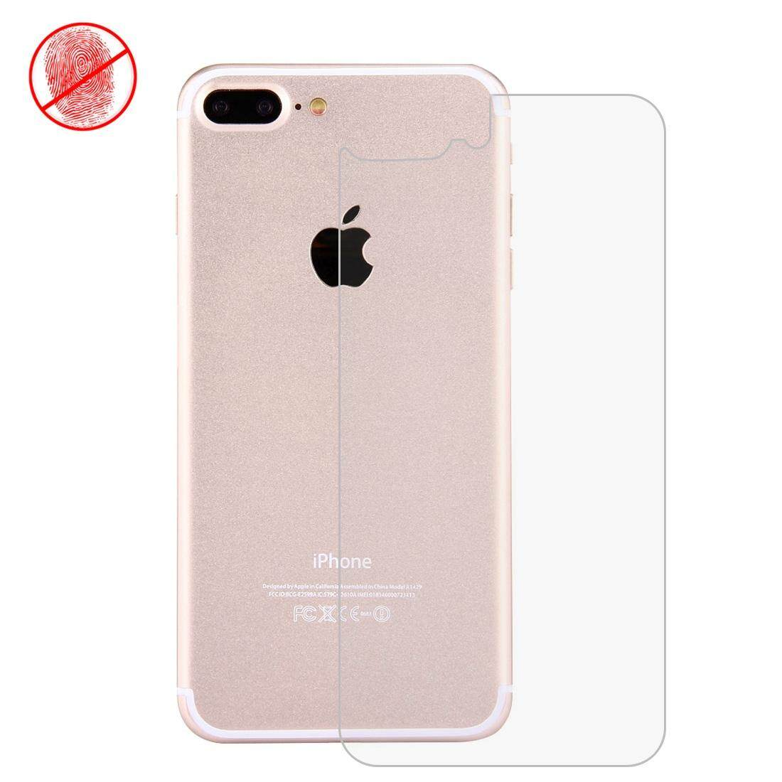 RUI HE For IPhone 7 Plus Anti-glare Back Screen Protector(Taiwan Material) - intl