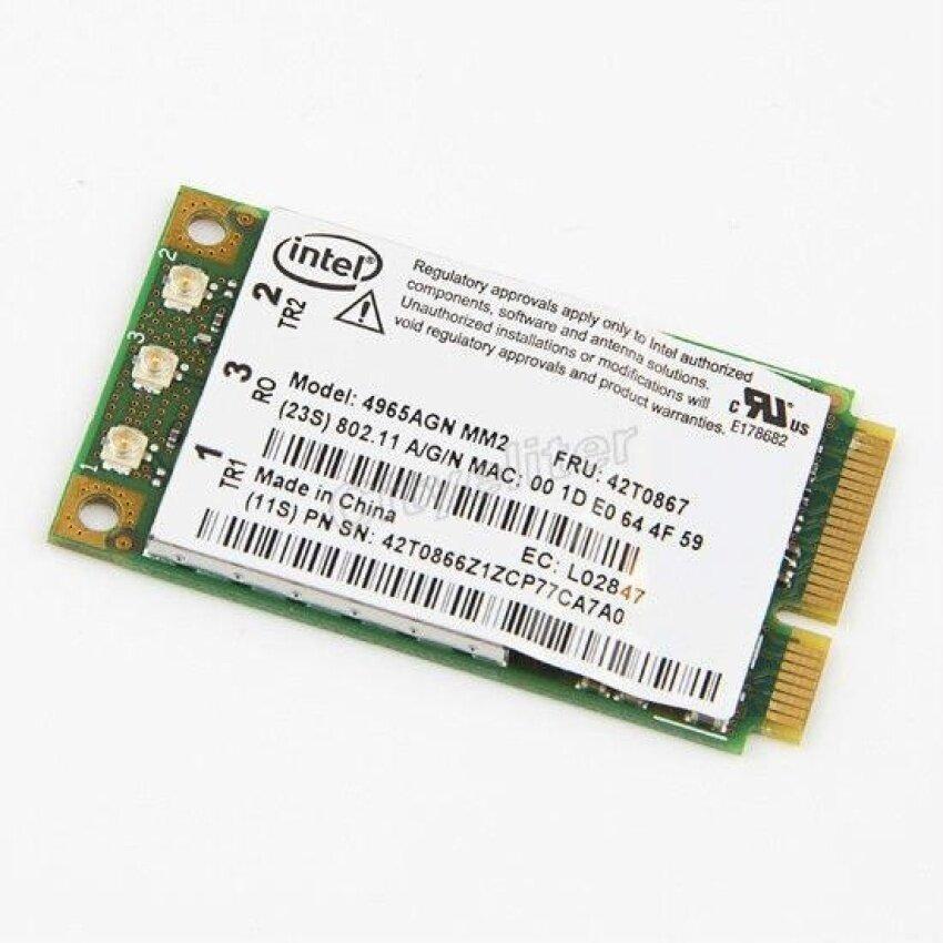 For Lenovo IBM Thinkpad T61 X61 Z61 X60 R60 Intel 4965 AGN WIFIWireless-N Card  - intl