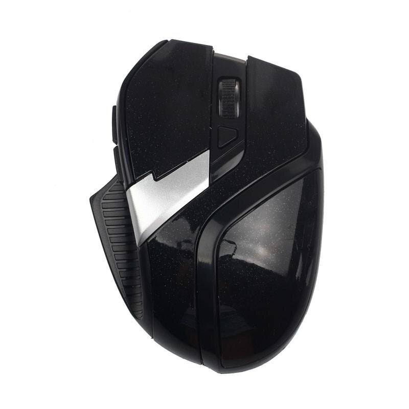 Untuk PC Laptop 2.4 GHz 6 Tombol Optik Nirkabel Mouse Fleksibel Tikus BK-Intl