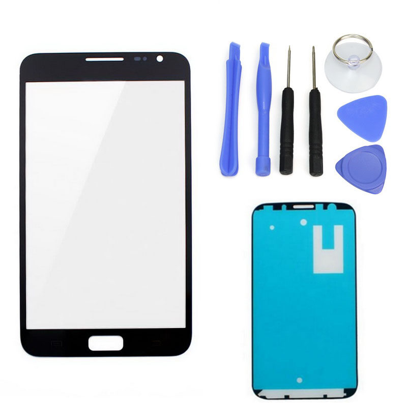 For Samsung Galaxy Note1 N7000 Black LCD Front Touch Screen Glass Outer Lens 4.8''