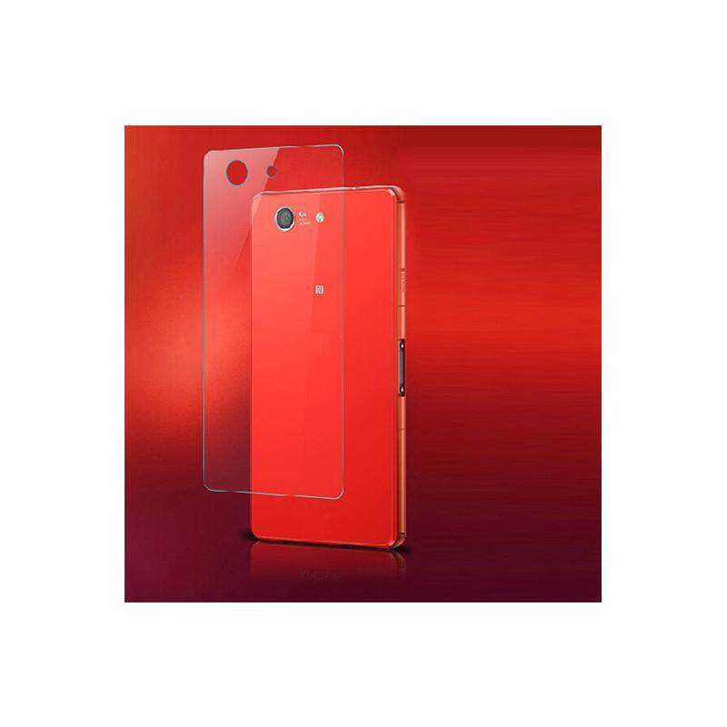 untuk Sony Xperia Z3 Compact Front + Back Tempered Glass Film Screen Protector Clear-Intl
