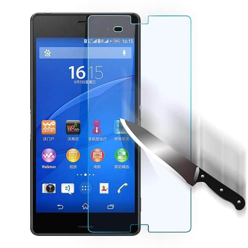 For Sony Xperia Z3 D6603 D6643 D6653 Tempered Glass Screen Protector Film EN6